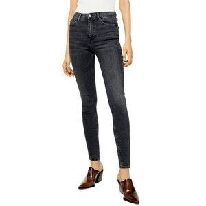 TOPSHOP Jamie High Waist Skinny Washed Jeans 31/30
